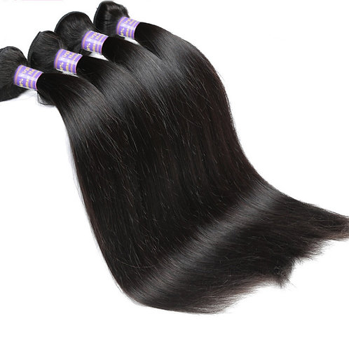 Brazilian Non Remy Hair Extensions StraightHair Weave Virgin Hair Extensions
