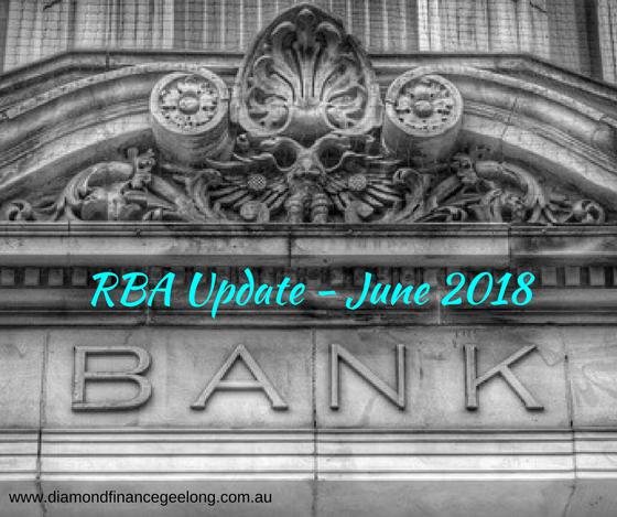 RBA Update June 2018