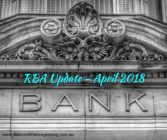 RBA Update April 2018