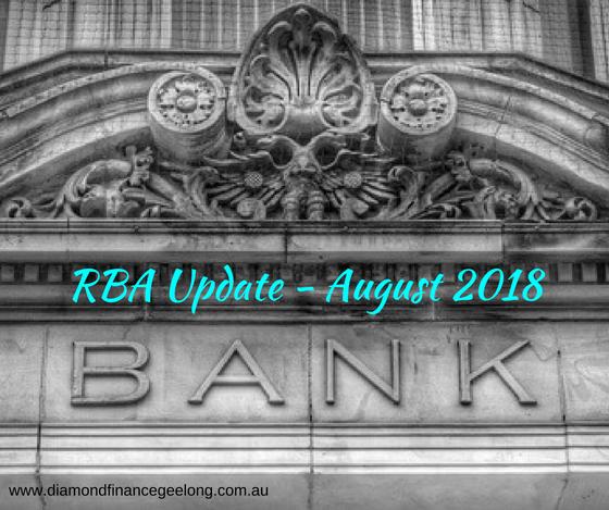 RBA Update August 2018