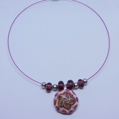 Halskette Seerose