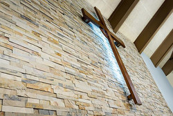 After Main Wall with cross