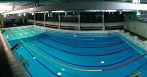 Бассейн Экран, в котором проходят тренировки и курсы по фридайвингу