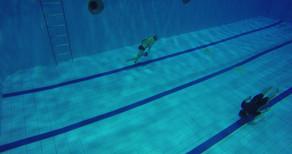 Глубина 5 метров. Прозрачная вода