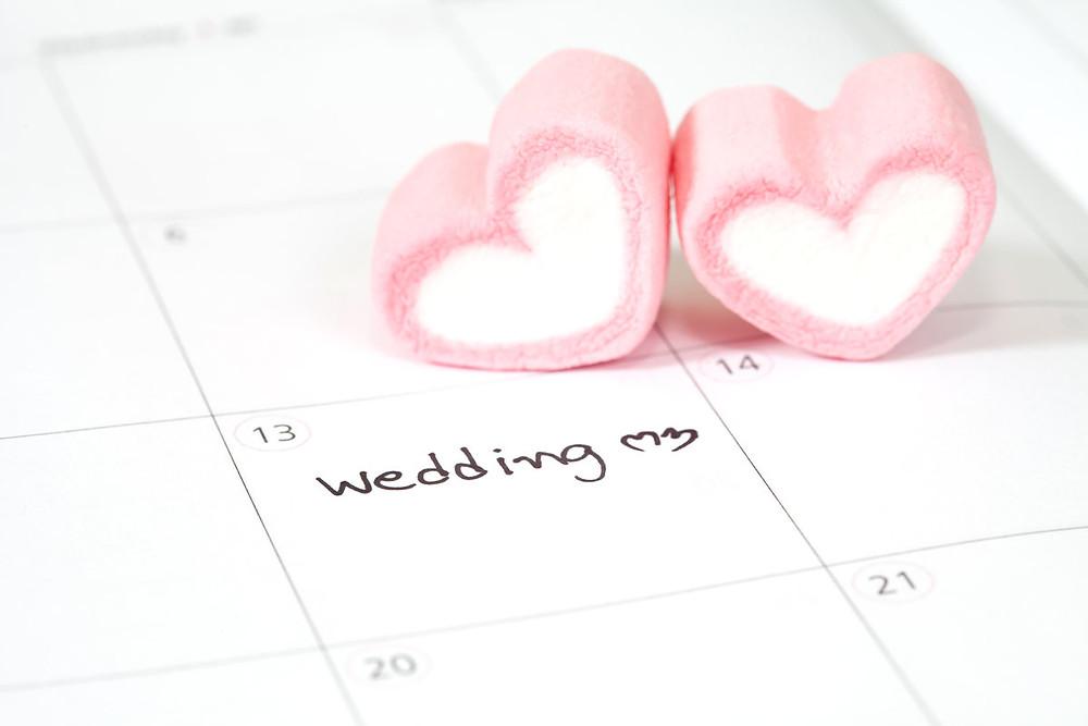 Hochzeitsplanung, Hochzeitsplaner, Hochzeitsdatum, Hochzeitstag, Hochzeitstermin