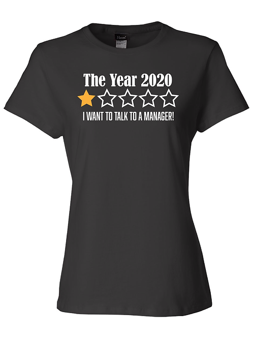 The Year 2020 I want a manager!