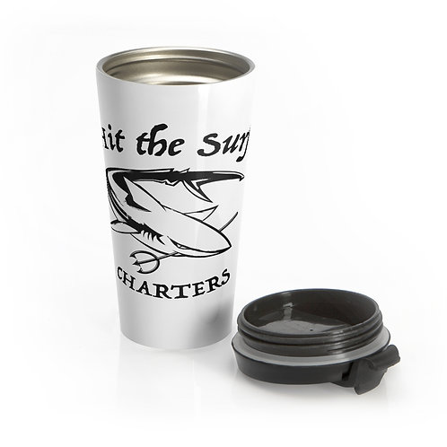 Copy of Hit the Surf Charters Travel Mug