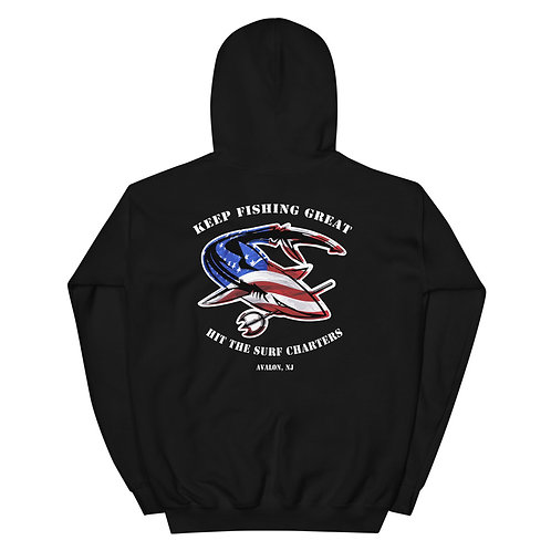 Keep Fishing Great Unisex Hoodie