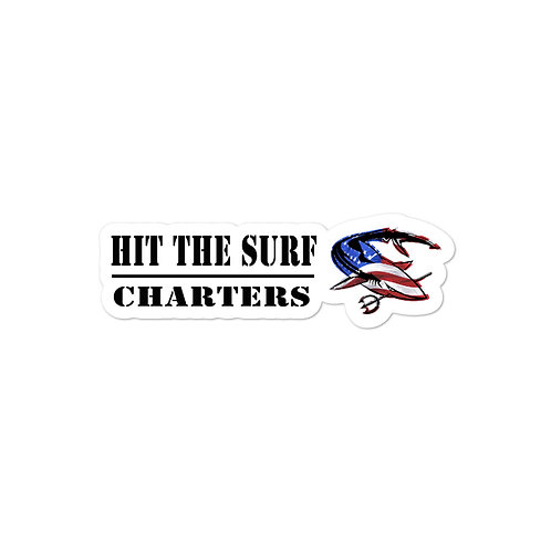 Hit the Surf Charters Sticker