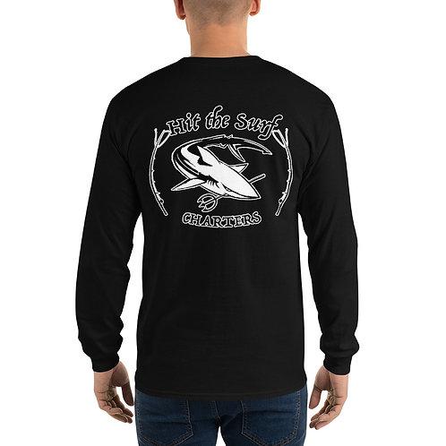 Hit the Surf Charters Men's Long Sleeve Shirt