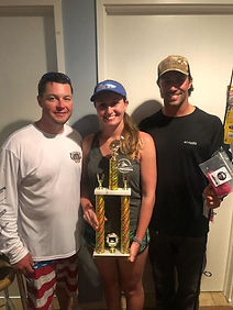 Hit the Surf Charter Women's Division Win in the 13th Annual Grassy Sound Flounder Tournament Avalon, Stone Harbor, Sea Isle City, Wildwood, Cape May