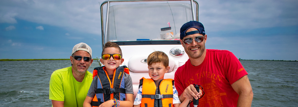 Kids Fishing Charter Hit the Surf Charters