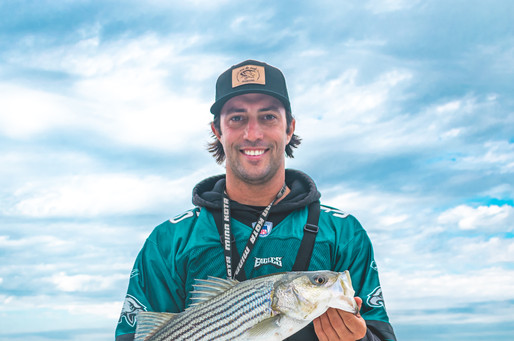 Hit the Surf Charters Back Bay Striper Fishing Charter