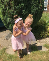 Two of our beautiful ballerinas super ex