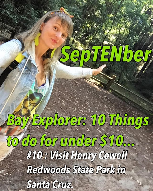 It's SepTENber Bay Explorers! And I'm going to give you a list of 10 Things you can do for $10 & under..