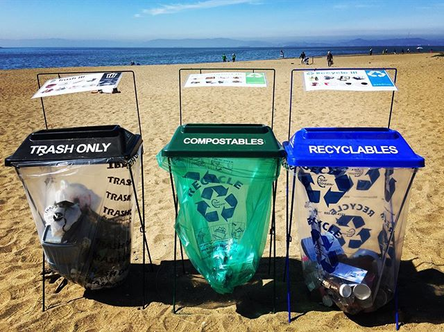 Saturday was California's Coastal Clean Up Day.jpg Beaches & waterways got a good cleaning by hundreds of volunteers from all across the state