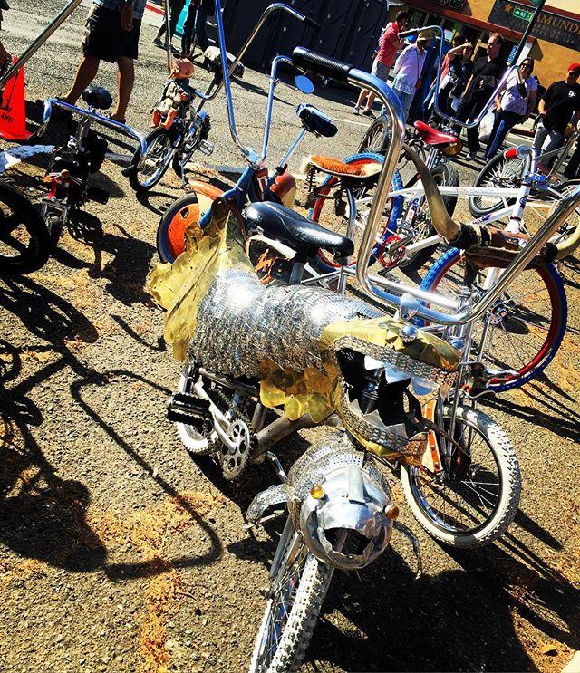 Cool bikes #TemescalStreetFair #Oakland #BayExplorers #CoolBikes #PlayAllDay #ForeverOutside #BayArea #MomLife #WhatToDoWithKidsInTheBayArea