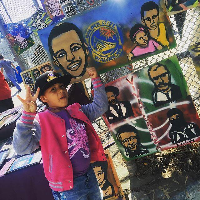 Yeah so- Dubs 💙💛💙💛💙💛#YayArea #DubNation #Warriors #Game7 #Oakland #Carnaval #SanFrancisco #BayExplorers #WhatToDoWithKidsInTheBayArea