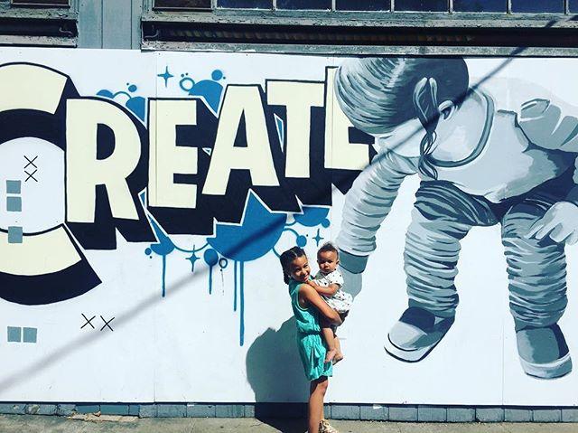 Create 😻 #TemescalStreetFair #Create #Oakland #BayExplorers #MomLife #ForeverOutside #PlayAllDay #BayArea #LoveOfMyLife #Blessed #WhatToDoWi