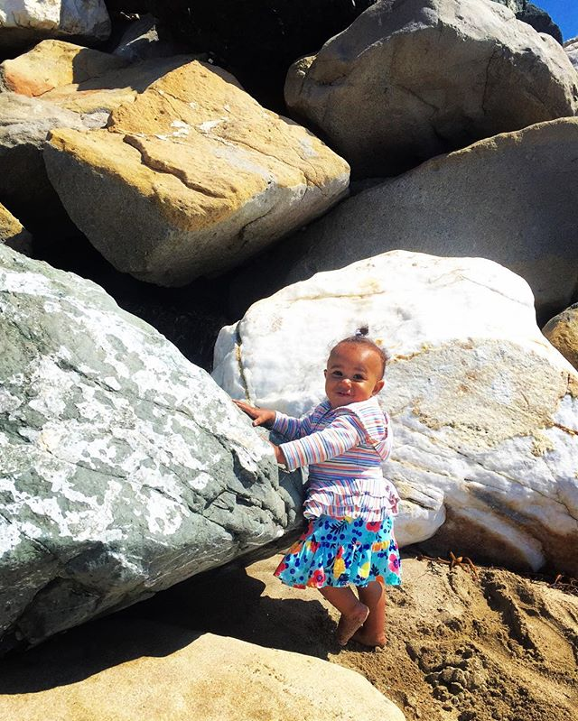 Rock climbing. It's SepTENber_ 10 Things to do with your kids under $10..
