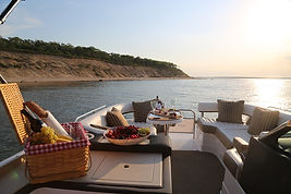 Pontoon Boat Sunset Charter