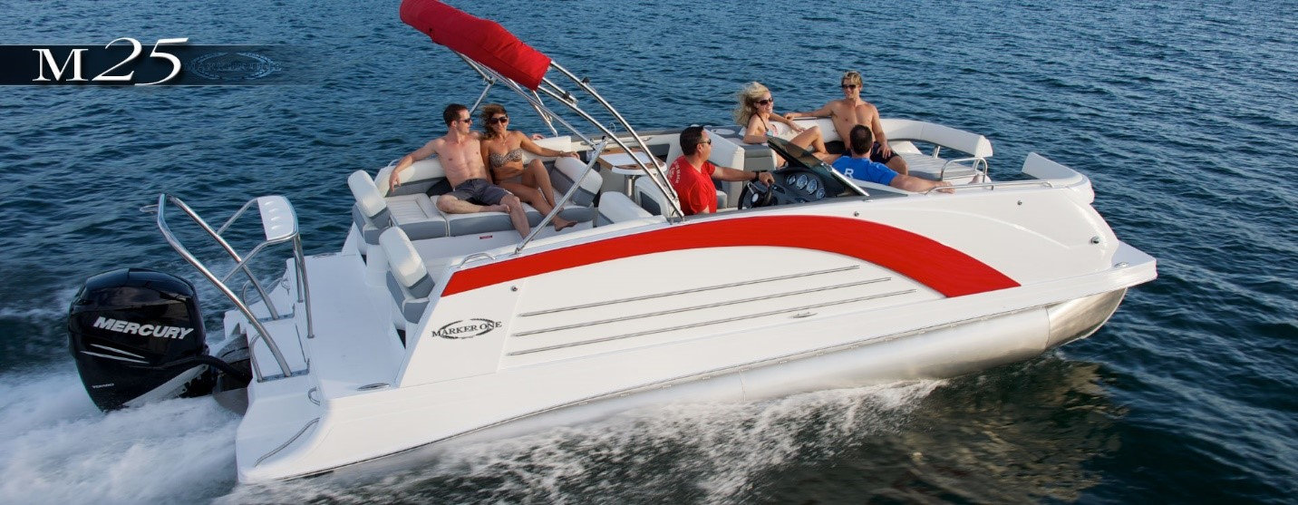 Mark 1 Pontoon Boat Charter