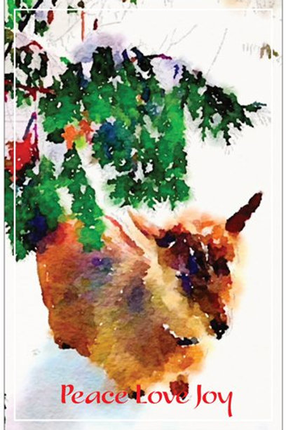 """Maz"" Christmas Card Set of 5"