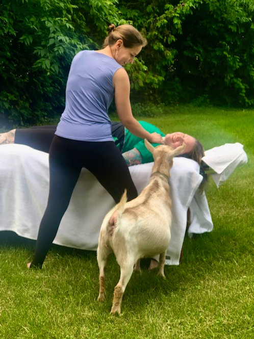 Massage & Energetic Therapy (90 minutes)