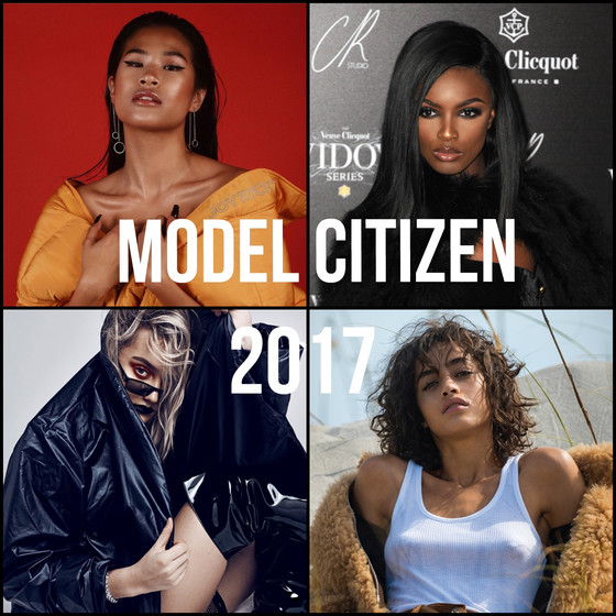 MODEL CITIZEN 2017: My Favorite Models of the Year