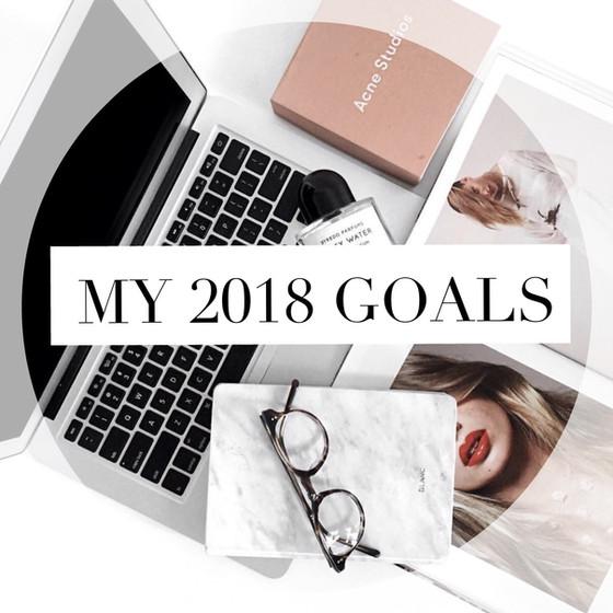 My 2018Goals:Part 1