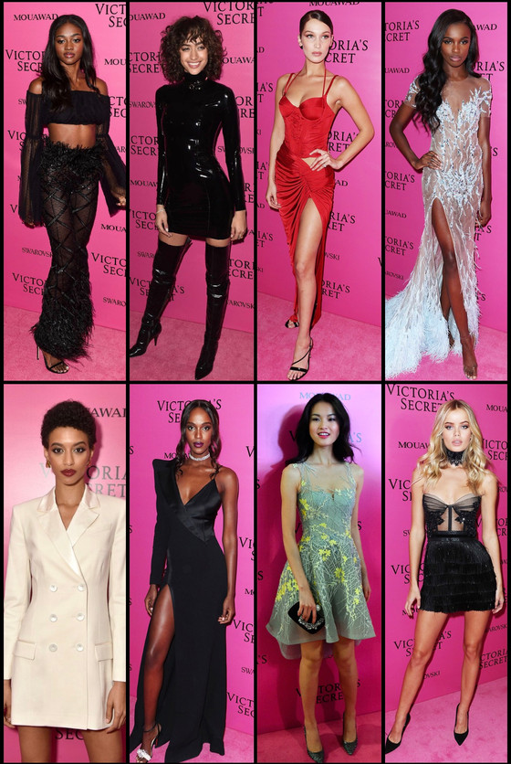 Best Dressed of theVictoria's Secret Fashion Show Pink Carpet
