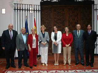 Soledad Becerril se reúne con representantes de la Mesa Estatal