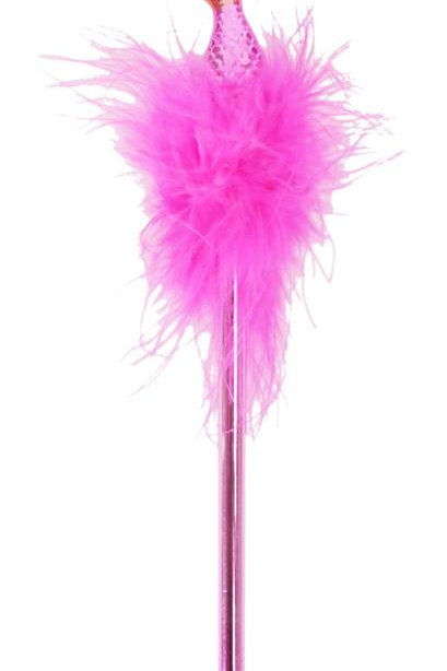 Boa Feather Pen - Pink