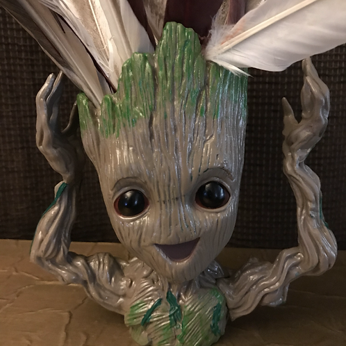 Groot with Hands Up