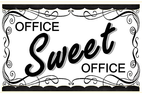 Tabloid Picture of Office Sweet Office