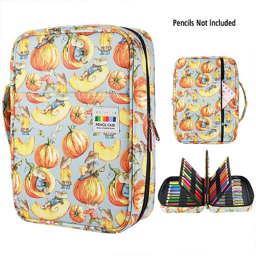 216 Slots Large Capacity Pencil Bag Case Organizer Cosmetic Bag for Colored Penc