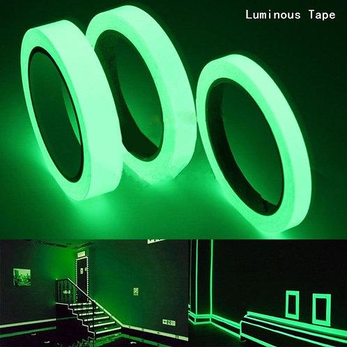 Luminous Tape 1.5cm*1m 12MM 3M Self- Vision Glow in Dark Safety Warning Security