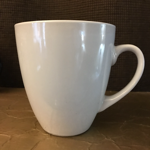 Extra Large White Coffee Mug