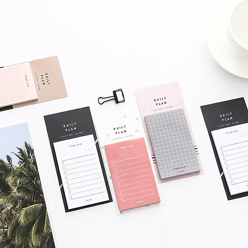 1pc 50 Sheets to Do List Check List Sticky Notes Memo Pad Notepad School Office