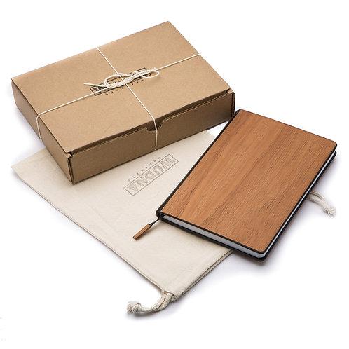 "Customizable 5"" X 7"" Wood Journal / Planner"