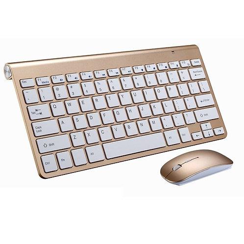 Wireless Keyboard Mouse  Keyboard Set 2.4G Mini Keyboard Mouse and Keyboard Set