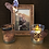 Thumbnail: Rose Frame + Paperclip & Candle Holders