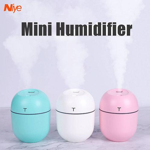 Niye USB Office Mini Humidifier Small Sprayer Office Air Purifier LED Night Ligh