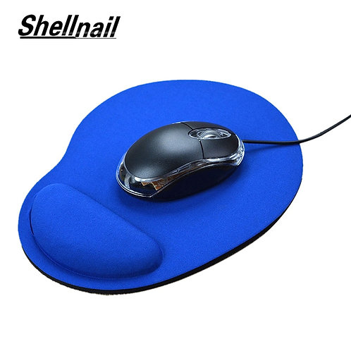 Mouse Pad With Wrist Rest for Computer Laptop Notebook Keyboard Mouse Mat With H