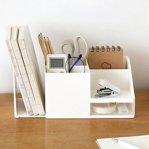 Creative ABS Desk Office Organizer Storage Pen Holder Desktop Pencil Sundries St