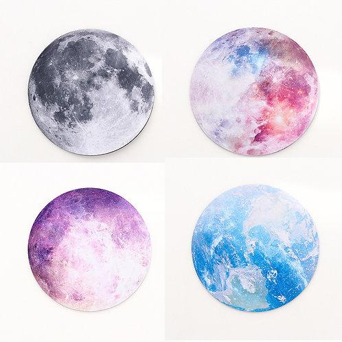 Moon Earth Desk Mat Office Desk Organizer School Supplies High Quality Moon Mous