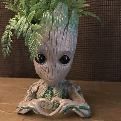 Groot with Heart