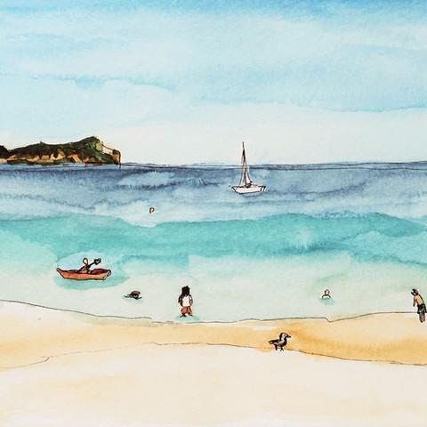 English Summer at the Seaside