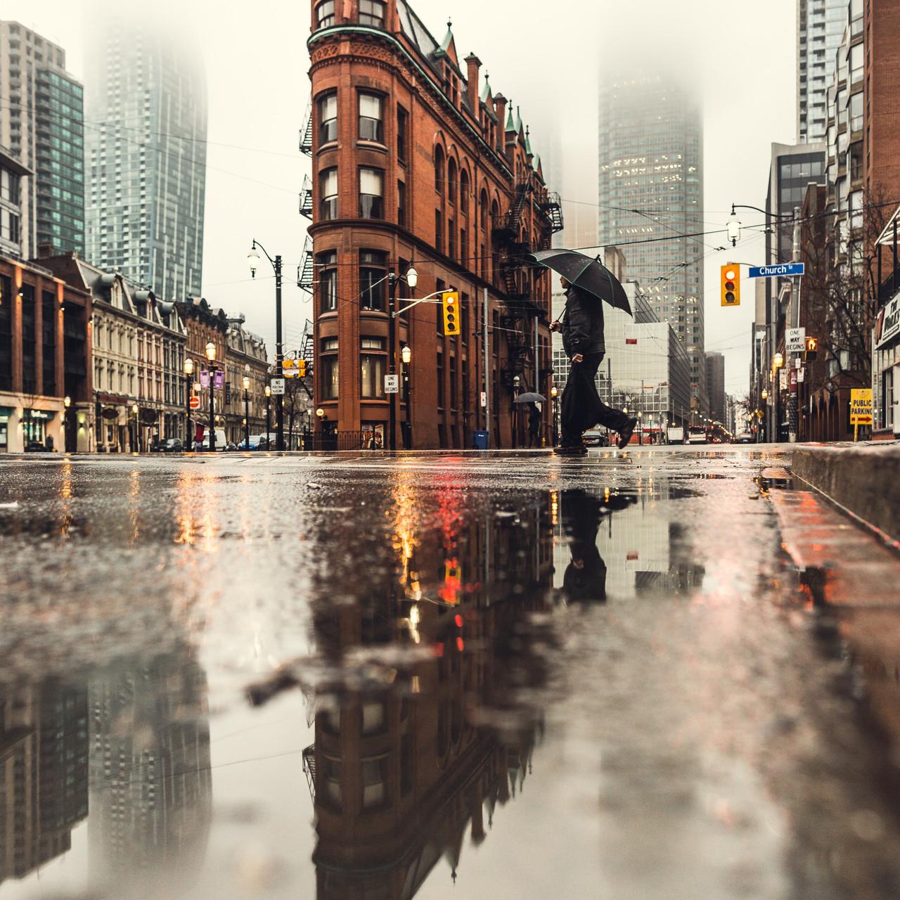 Reflectie regen 5
