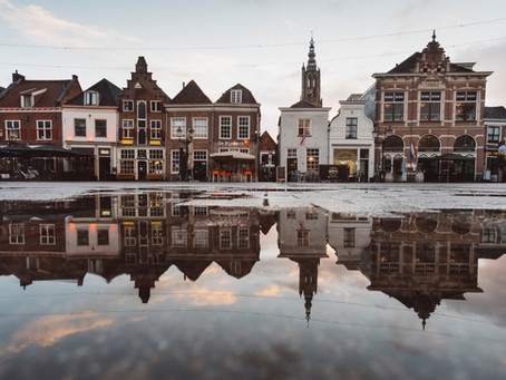 Reflecties - Na regen komt zonneschijn